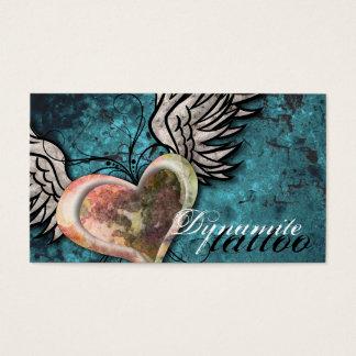 Het Visitekaartje van het Tattoo van de Vleugels