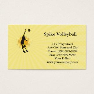 Het Visitekaartje van het Volleyball van de aar Visitekaartjes