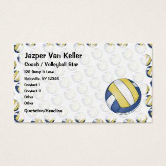 Het Visitekaartje van het volleyball Visitekaartjes