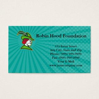 Het Visitekaartje van Robin Hood Foundation Visitekaartjes