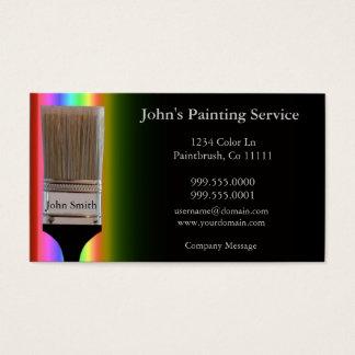 Het Visitekaartje van schilders Visitekaartjes