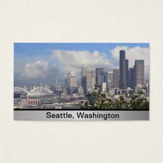 Het Visitekaartje van Seattle Washington Visitekaartjes