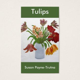 Het Visitekaartje van tulpen: Susan Payne-Trutna Visitekaartjes