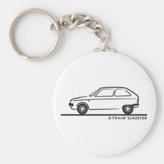 Het Visum van Citroën van het Visum van Citroën Sleutelhanger