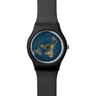 Het vlakke Horloge van de Sporten van de Kaart van