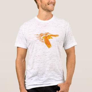Het vlammen Eagle T Shirt