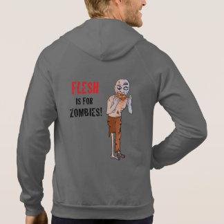 Het vlees is voor de Veganist Hoodie van Zombieën