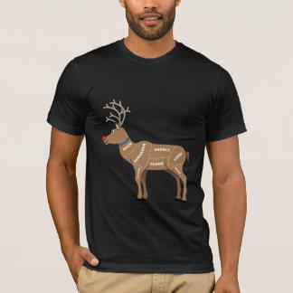 Het Vlees van het rendier voor Kerstmis T Shirt