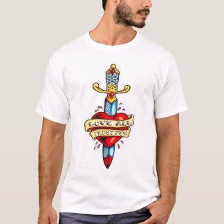 Het vlekkelooze Overhemd van het Hart - groot T Shirt