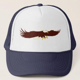 Het vliegen Kaal Eagle Trucker Pet