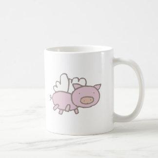 Het vliegen Piggy Koffiemok