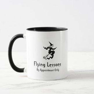 Het Vliegen van de Bezemsteel van de heks Lessen Mok
