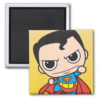 Het Vliegen van de Superman van Chibi Vierkante Magneet