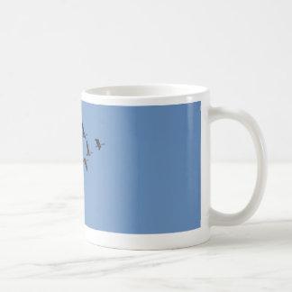 Het vliegen van ganzen koffiemok