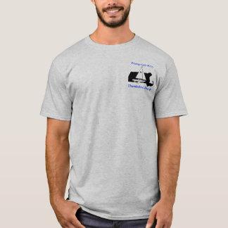 het vliegen zeemeeuwgrijs t shirt