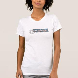 het vliegende overhemd van varkenszegels t shirt