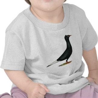 Het vliegende Zwarte Pet van de Vlucht T Shirt