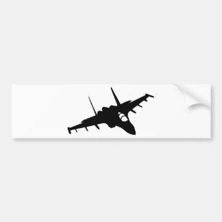Het vliegtuig van de vechter bumpersticker