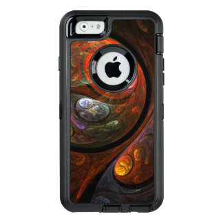 Het vloeibare Abstracte Art. van de Verbinding OtterBox iPhone 6/6s Hoesje