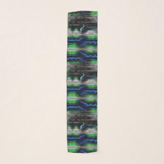 Het vloeibare Neon van de Dolfijn van Trillingen Sjaal