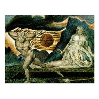 Het Vluchten van Cain Briefkaart