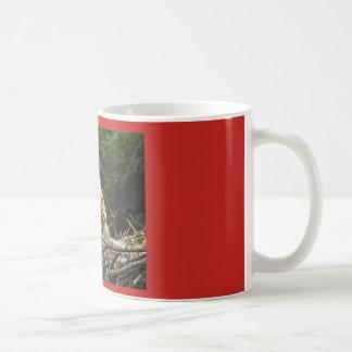 Het Voeden van het adelaarsjong Tijd Koffiemok