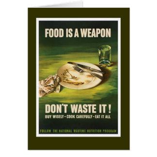 Het voedsel is een Wapen - WW2 Kaart