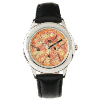 Het Voedsel van de Nieuwigheid van de pizza Horloges