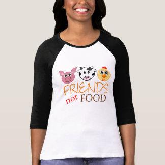 Het Voedsel van vrienden niet T Shirt