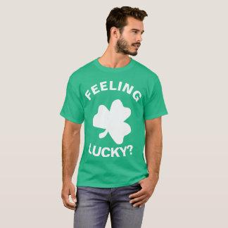 Het voelen Gelukkig? - St. Patrick Dag T Shirt