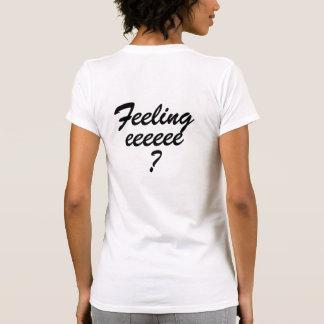 Het voelen van sixey? de Grappige Sexy Tekst Sext Shirt