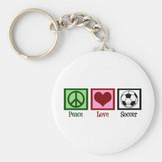 Het Voetbal van de Liefde van de vrede Sleutelhanger