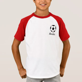 Het voetbal van Futebol van Andre T Shirt