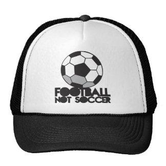 Het voetbal van het FOOTBALL niet! bal overhemd Trucker Petten