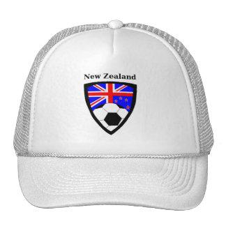 Het Voetbal van Nieuw Zeeland Trucker Pet