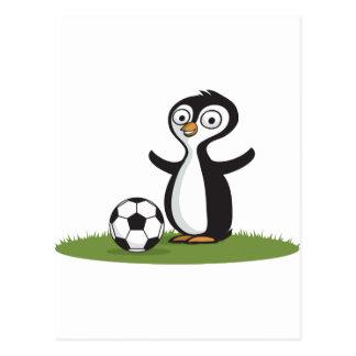 Het Voetbal van Penquin Briefkaart