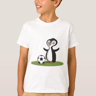 Het Voetbal van Penquin T Shirt