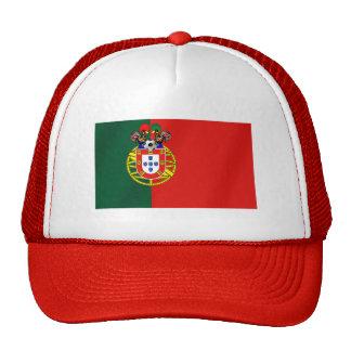 Het Voetbal van Portugal Trucker Pet