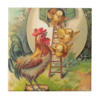 Het Vogelhuis van het Ei van het Kuiken van de Tegeltje