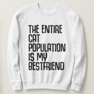 Het volledige BasisSweatshirt van de Kat Trui