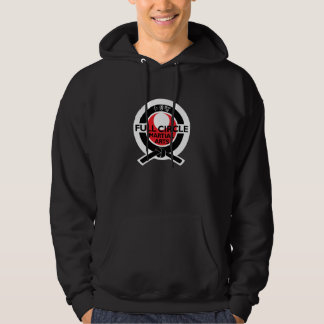 Het volledige zwarte sweatshirt van de Cirkel