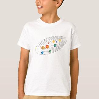 Het volwassen RuimteT-shirt van het Zonnestelsel T Shirt