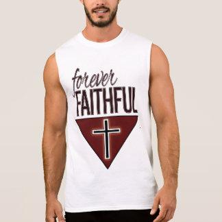 Het voor altijd Gelovige Mouwloos onderhemd van T Shirt