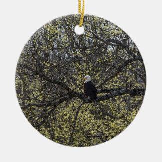 Het Vooruitzicht Painterly van Eagle Rond Keramisch Ornament