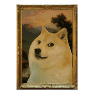 Het Vorstelijke Poster van de doge