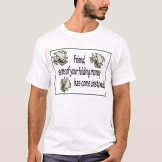 Het vouwen van Geld T Shirt