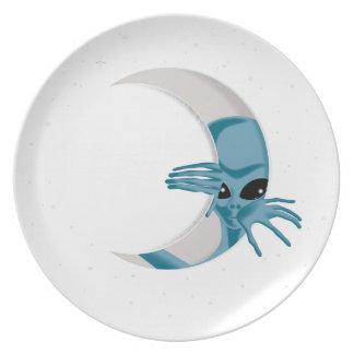 Het vreemd-leven melamine+bord