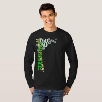 """Het """"vreselijke"""" Lange Sleeve van het Mannen Tim T Shirt"""