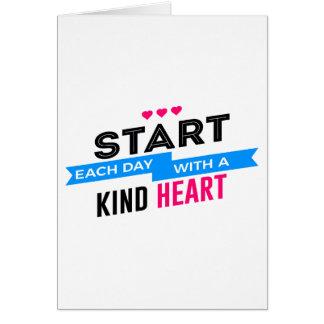 Het vriendelijke Mensdom van het Medeleven van het Briefkaarten 0