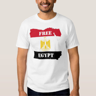 Het vrije Overhemd van Egypte T Shirts